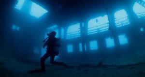宮古島のボートファンダイビングツアーで潜る沈船