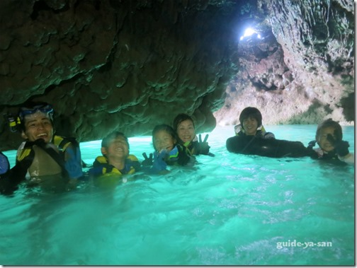 宮古島の鍾乳洞パンプキンホール