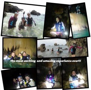 宮古島の鍾乳洞