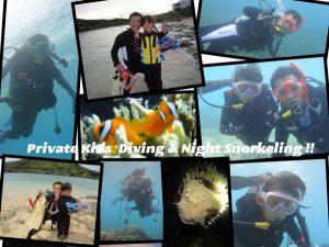 親子で楽しむ宮古島の初心者ビーチ体験ダイビング