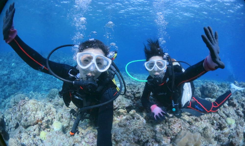 宮古島ダイビング体験