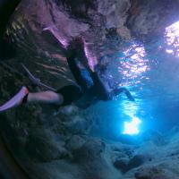 宮古島青の洞窟シュノーケリング