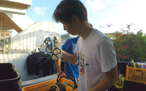 宮古島ダイビングのダイビング器材