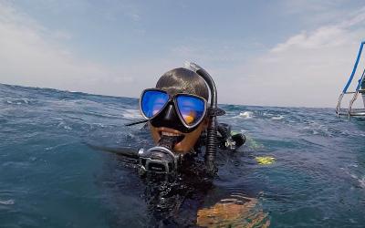 宮古島のダイビングショップスタッフ