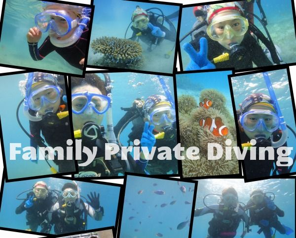 家族で楽しむ宮古島の初心者ビーチ体験ダイビング