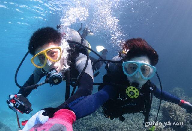 宮古島で夫婦で楽しんだダイビングと鍾乳洞ツアー
