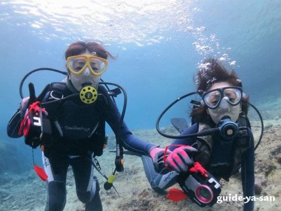 宮古島で友達と楽しんだ初めてのダイビング
