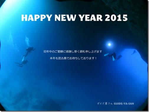 2015年も宜しくお願いいたします!