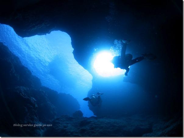 宮古島のダイビングポイント『ダブルアーチ』