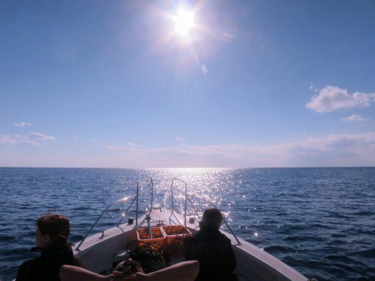 宮古島の大晦日の海