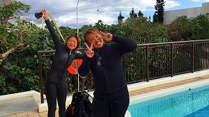 宮古島ダイビングインストラクタートレーニング