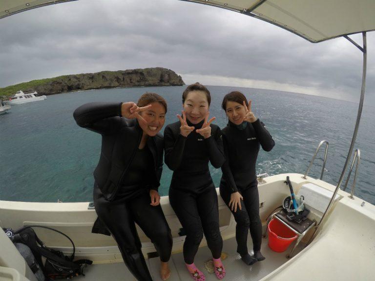 宮古島ダイビングインストラクター